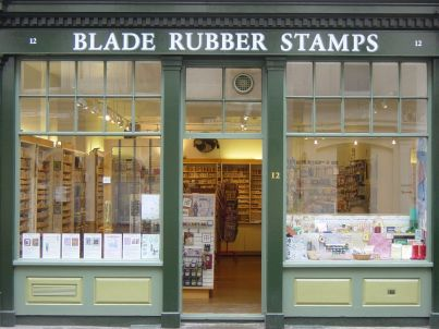 Blade rubber shop front